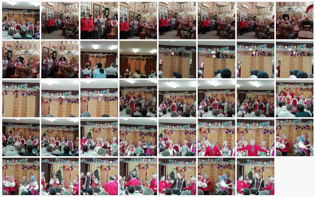 8 января в храме Донской иконы Божией Матери состоялся традиционный вечер Рождественских колядок историко-этнографический ансамбль Донская слободка порадовал рождественскими песнями, колядочным славлением и рождественским кукольным спектаклем Вертеп